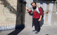 عکس: این مرد ۱۸ بار پیاده به کربلا رفته است
