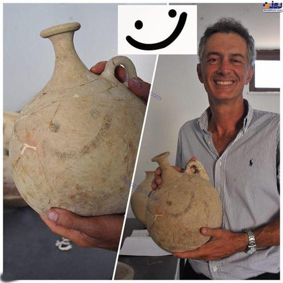 کشف قدیمىترین ایموجى در مرز مناطق جنگى سوریه! +عکس