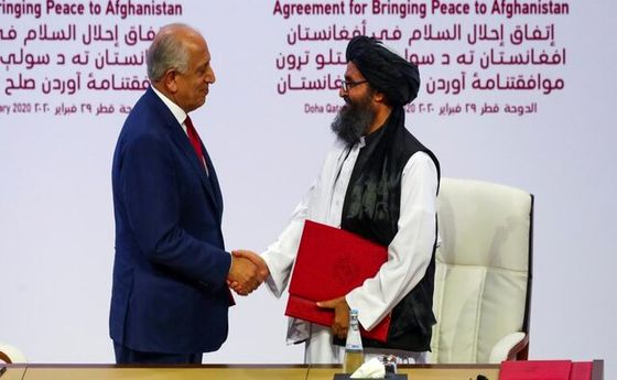 پشتپرده توافق پنهانی آمریکا با طالبان چیست؟