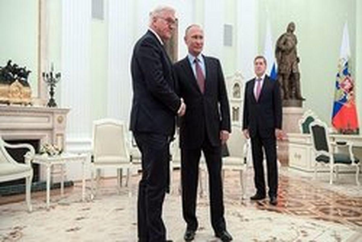 ابراز امیدواری پوتین به بهبود رابطه روسیه و آلمان