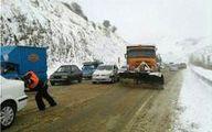گرفتاری مردم در برف و کولاک «گردنه خان بانه» +عکس