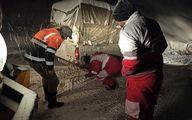 آمار امدادرسانی به هموطنان درگیر برف و کولاک طی ۴ روز گذشته