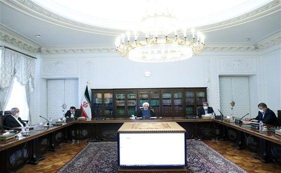 جلسه ستاد ملی مبارزه با کرونا با حضور روحانی +تصاویر