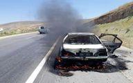 تصادف مرگبار پژو پارس؛ ۵ نفر در آتش سوختند