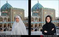 تصاویر/ تجربه زیبایی حجاب