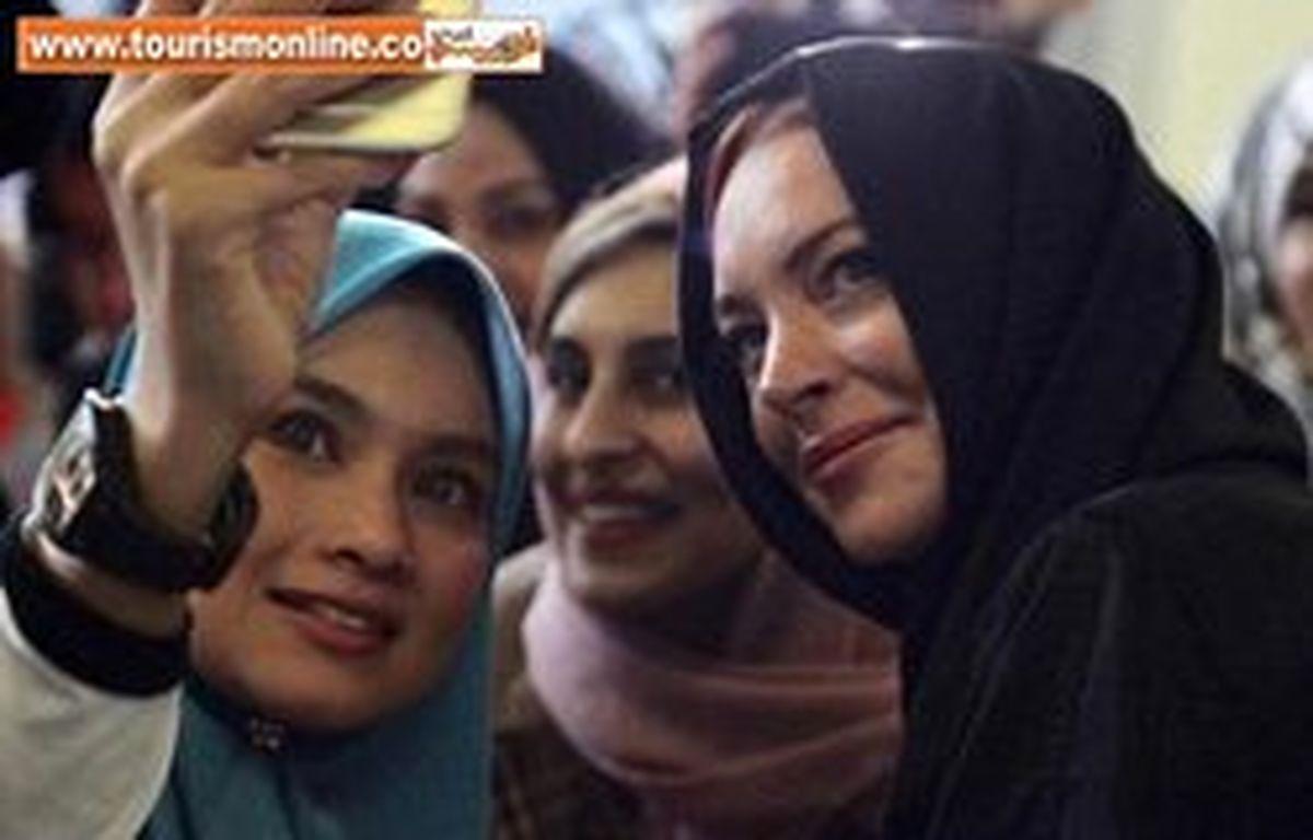 بازیگر جنجالی و پرحاشیه با حجاب اسلامی! +تصاویر