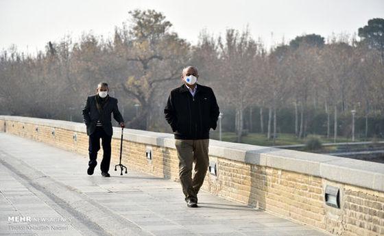 تصاویر: آلودگی هوای اصفهان