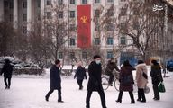 تصاویر: رهبر کره شمالی در حال برف بازی