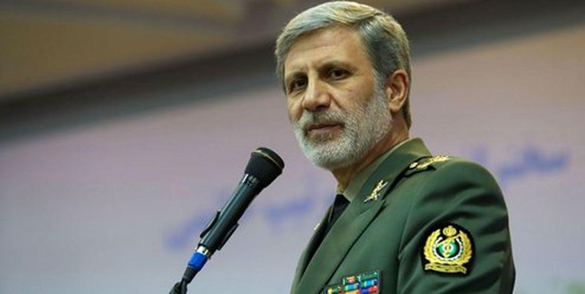 وزیر دفاع: دشمن از توانمندیهای موشکی ایران هراس و واهمه دارد