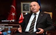 وزیر خارجه ترکیه: اسد باید کنار رود