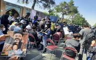 بدرقه «پدرسالار» سینمای ایران به خانه ابدی +تصاویر