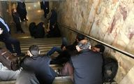 حبس شهروندان و اهالی رسانه در متروی مصلی! +تصاویر
