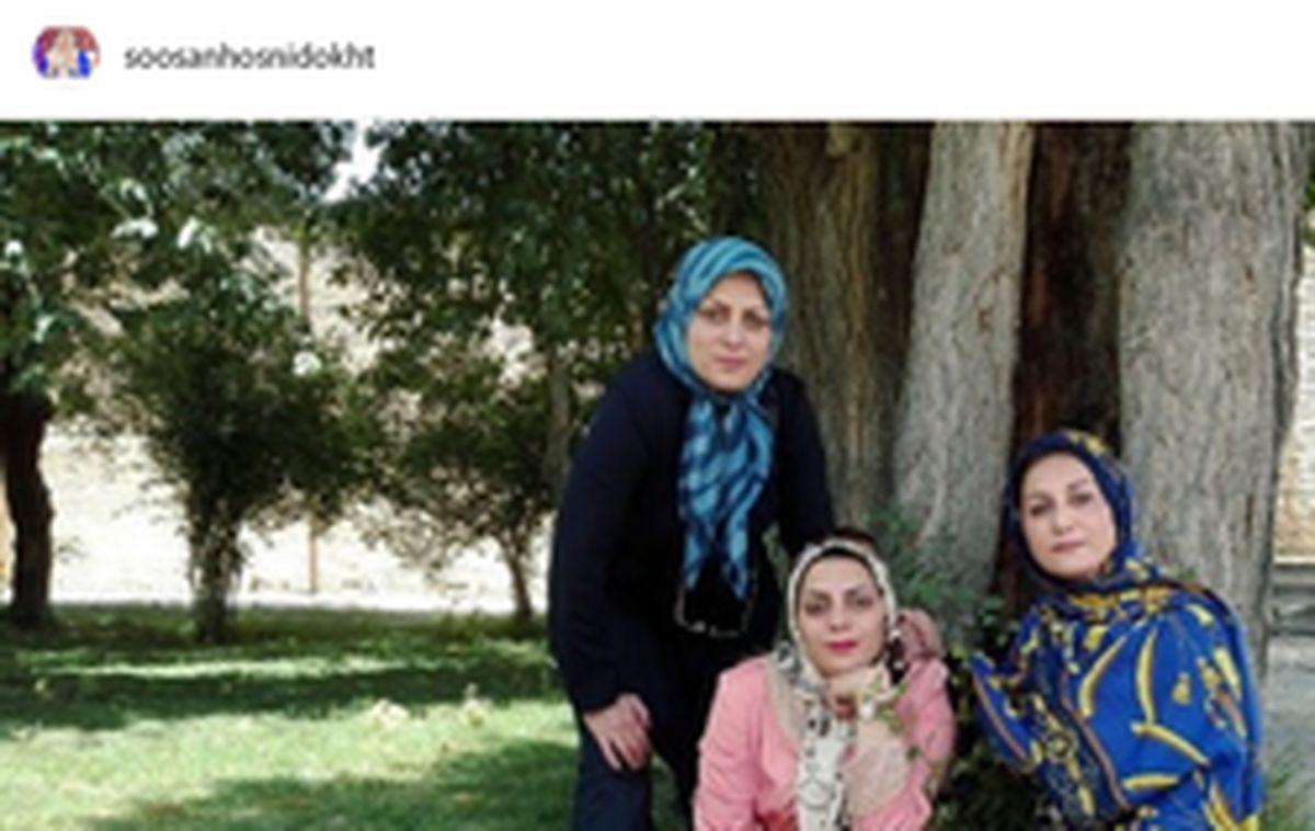 دورهمی خواهران گوینده خبر +عکس