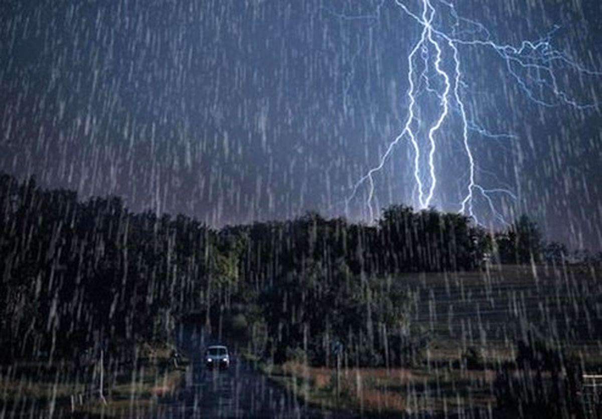 آخرین وضعیت بارشها