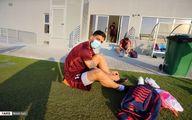 گزارش تصویری از تمرین پرسپولیس در دوحه