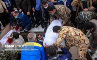 تصاویر: خاکسپاری پیکر ۲ شهید گمنام در اهواز
