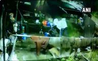 لحظه حمله برق آسای پلنگ به سگ خانگی! +فیلم
