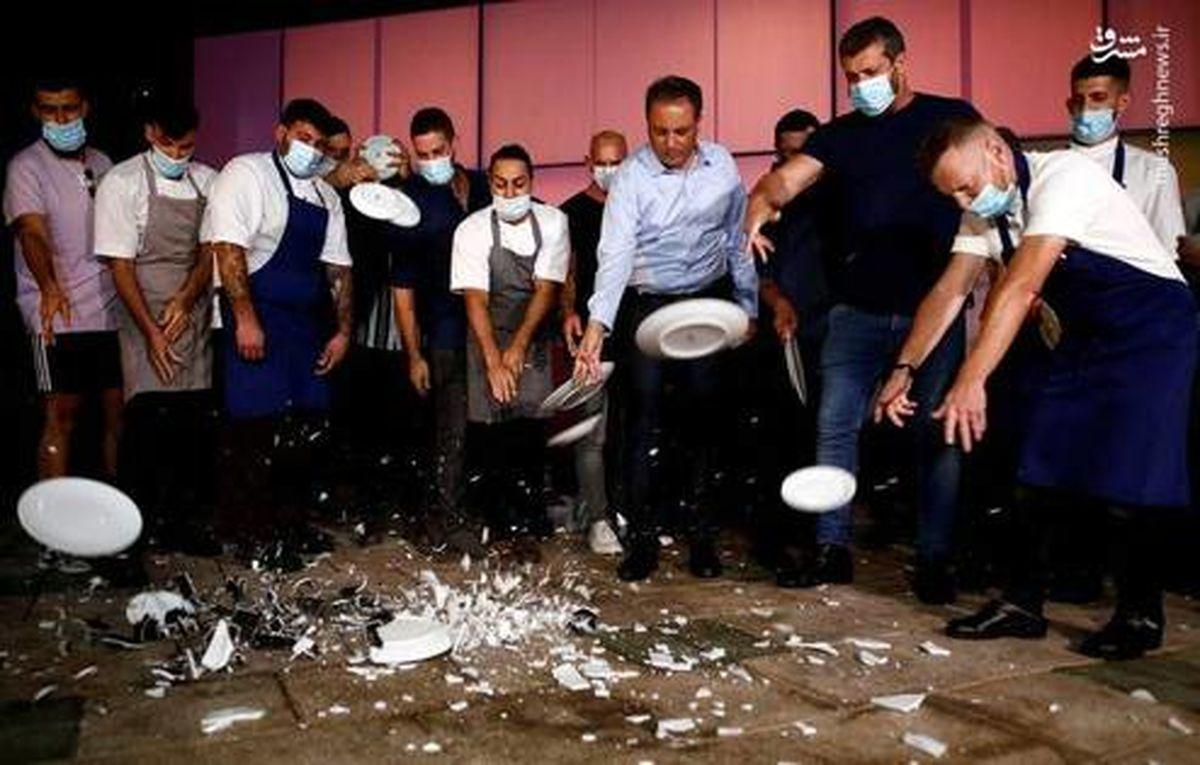 خشم رستورانداران تل آویو از نتانیاهو +عکس