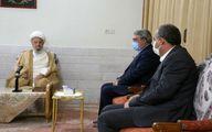 دیدار وزیر کشور با مراجع تقلید در قم