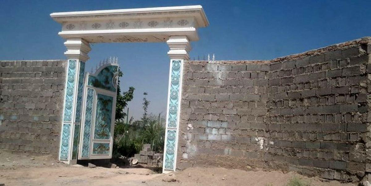 ماجرای تخریب قصر طاووس شهریار