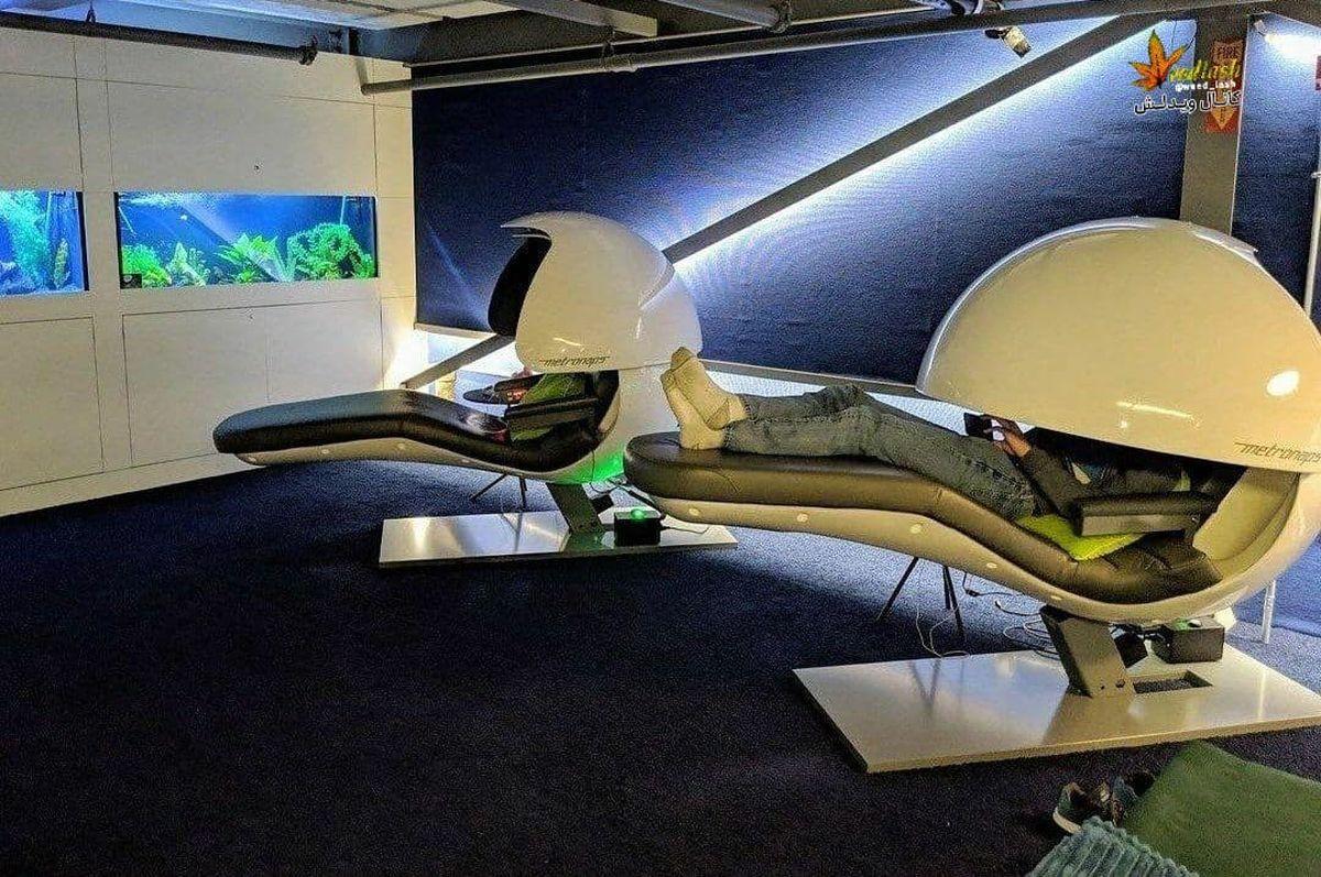 تخت های  مخصوص استراحت کارمندان  شرکت گوگل +عکس