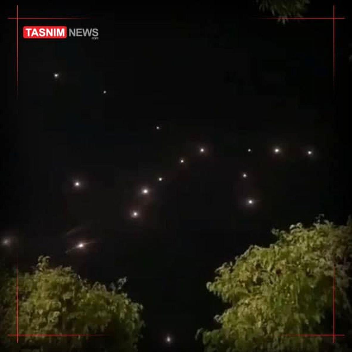 تکبیر عید فطر با آغاز حملات موشکی/استفاده از موشکهای SH85علیه تلآویو +فیلم