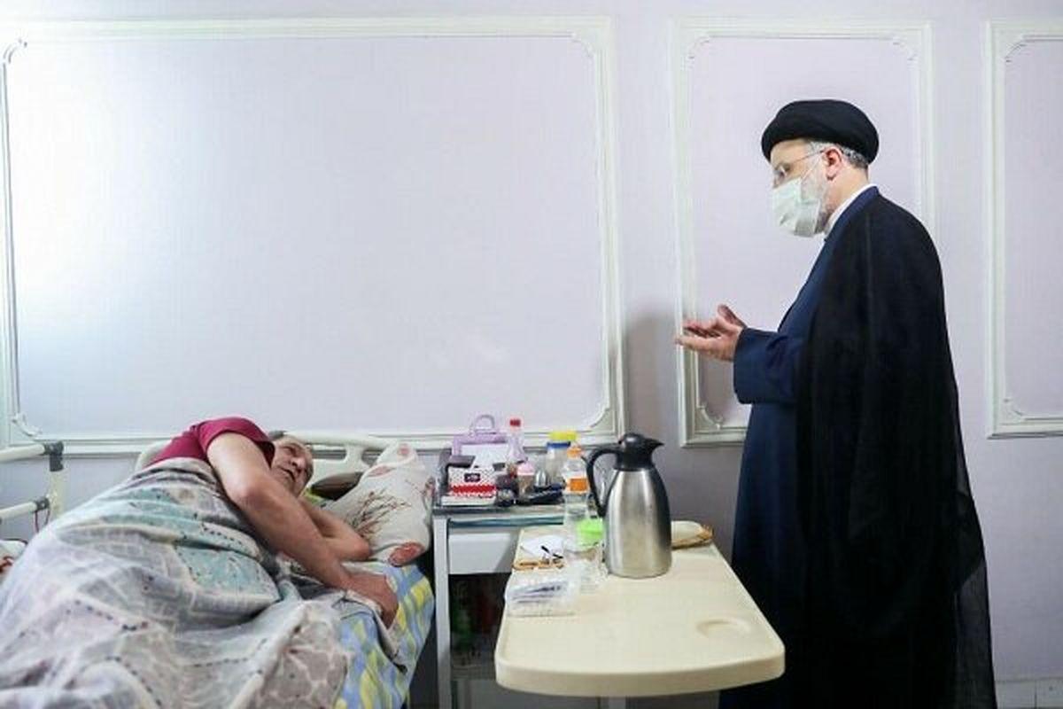 حضور سرزده رئیسجمهور منتخب در آسایشگاه جانبازان امام خمینی(ره)