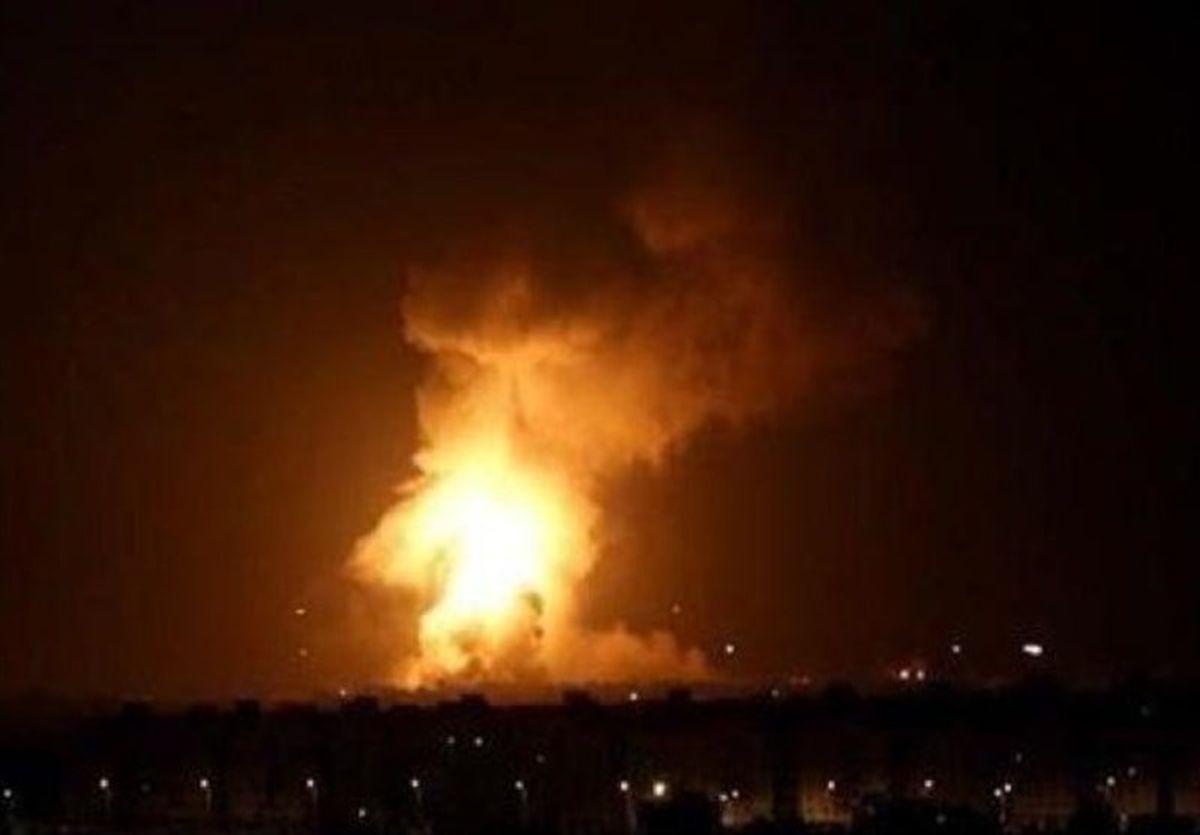 شنیده شدن صدای چند انفجار مهیب در اربیل