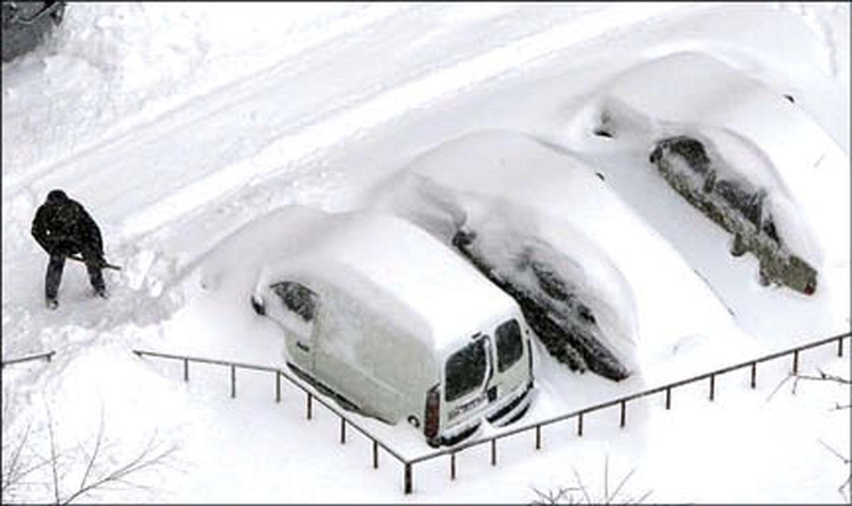 ماجرای برف روبی پلیس برای قاتل قلابی! +عکس