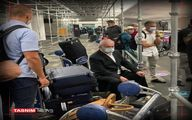 تنهایی نتانیاهو در فرودگاهی در آمریکا +عکس