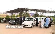 واکسیناسیون خودرویی در شیراز +فیلم