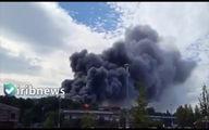 وقوع انفجار و آتشسوزی مهیب در «پارک استریت» انگلیس