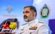 امیر ایرانی: نیروی دریایی برای دفاع از مرزهای آبی پادررکاب است