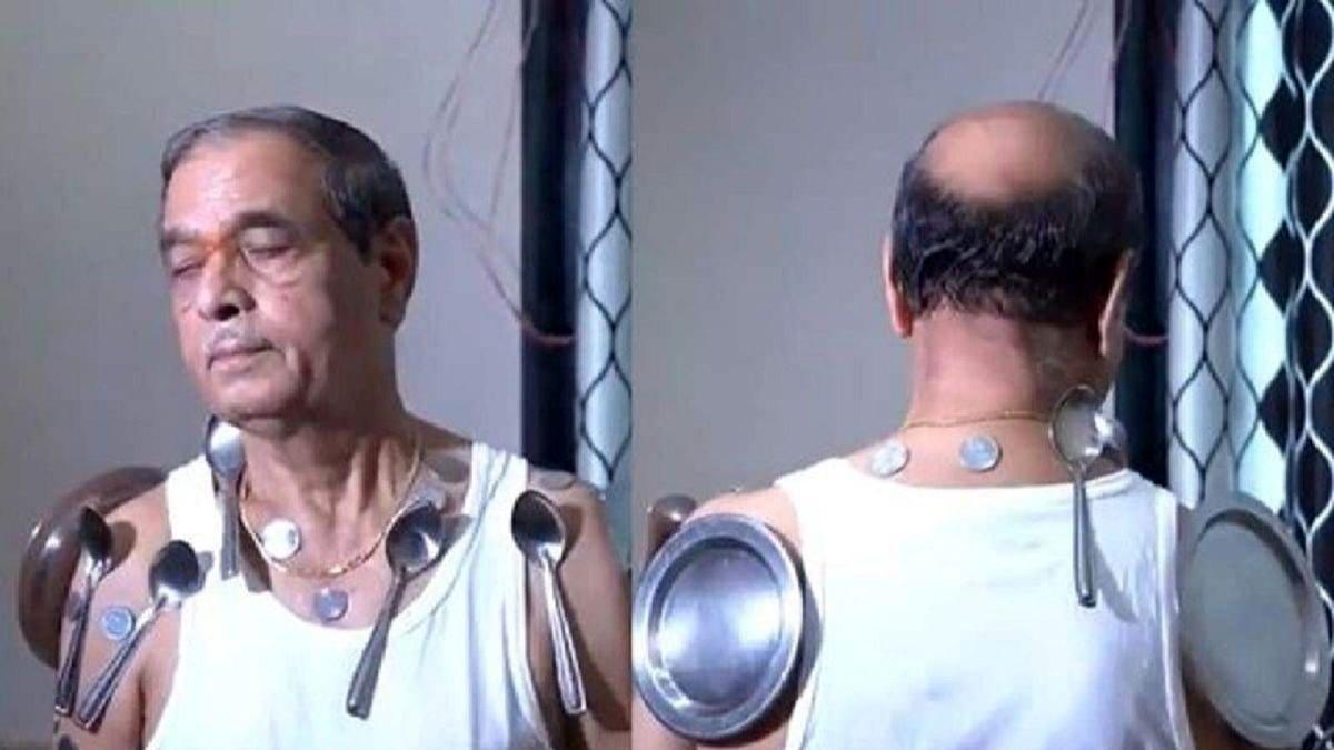 وضعیت عجیب یک مرد پس از تزریق واکسن کرونا! +عکس