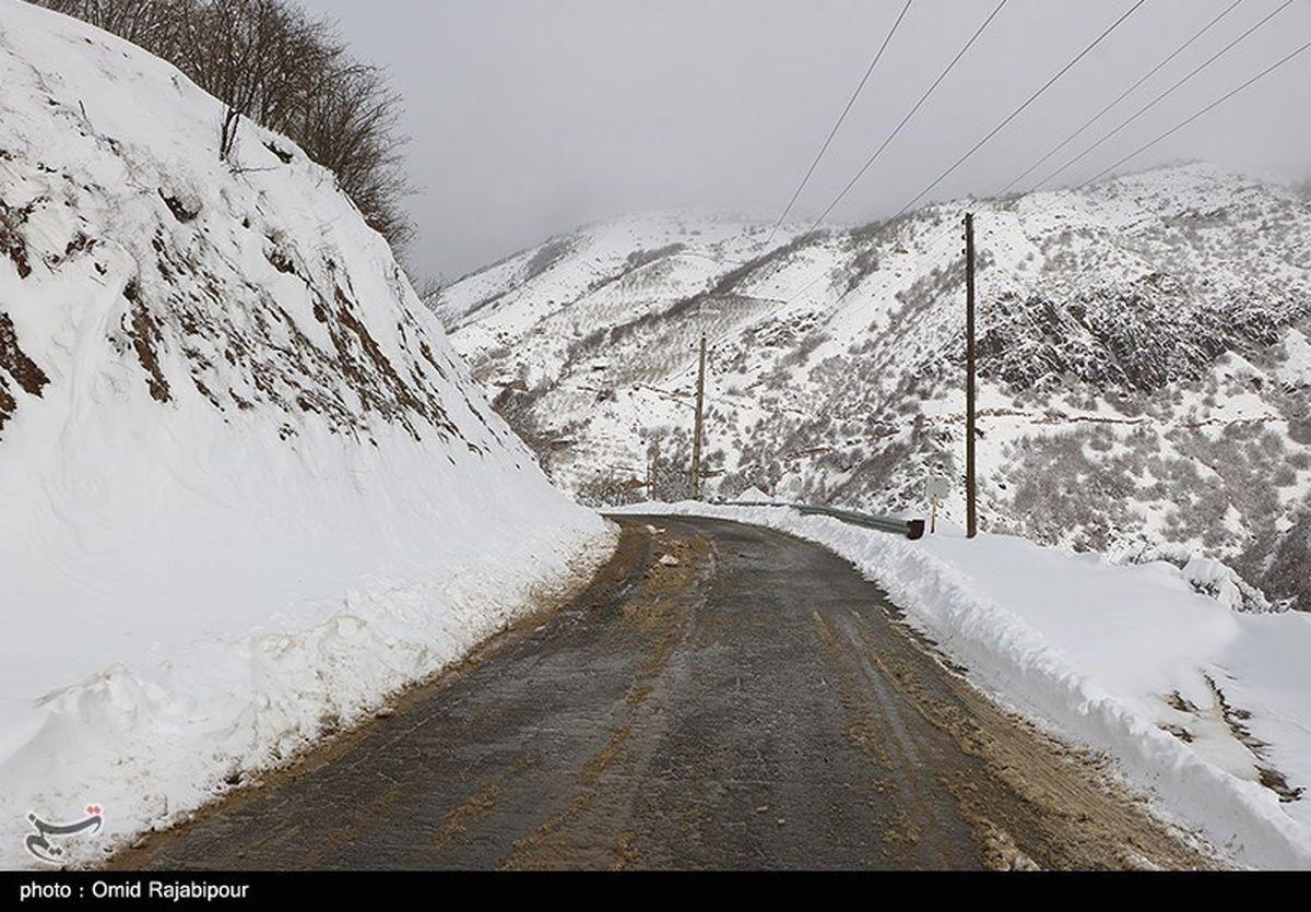 جادههای کدام استان ها آخر هفته برفی و بارانی است؟