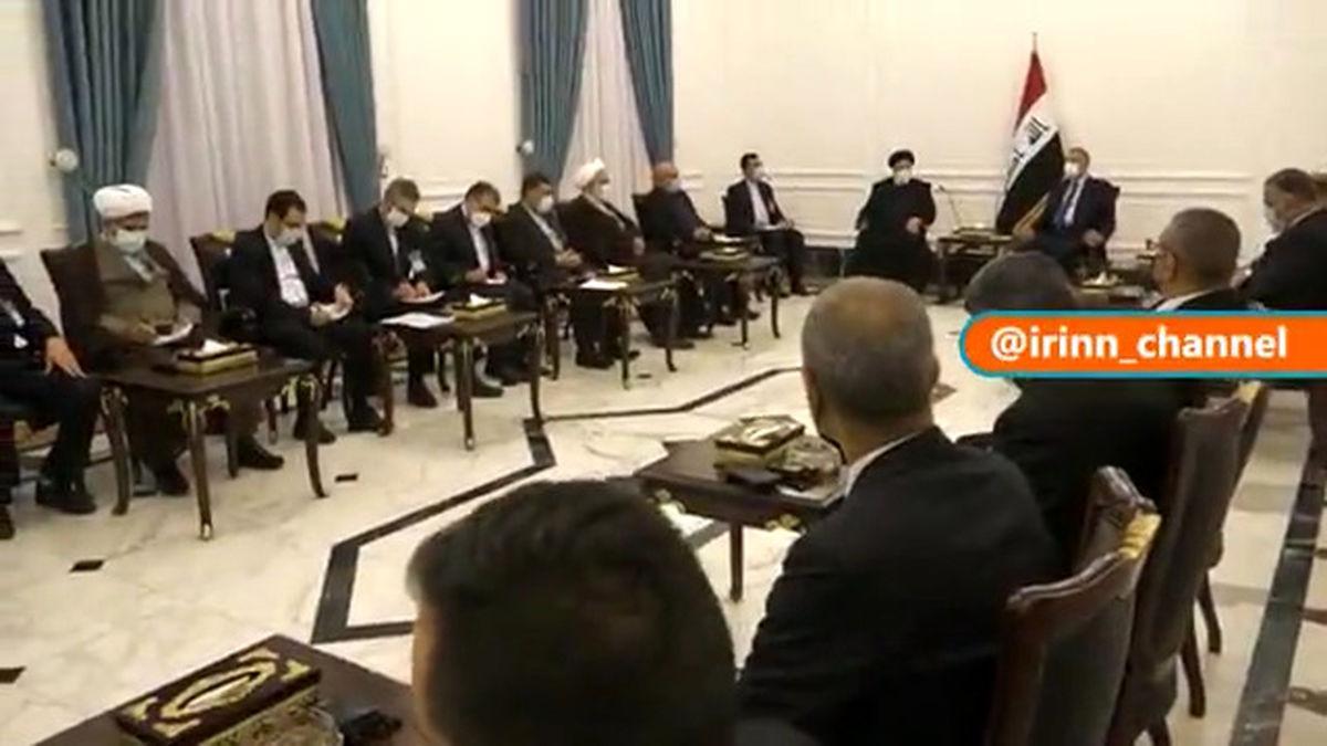 رئیس قوه قضائیه با نخست وزیر عراق دیدار کرد