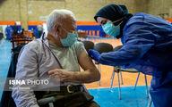 تصاویر: واکسیناسیون سالمندان بالای ۸۵ سال