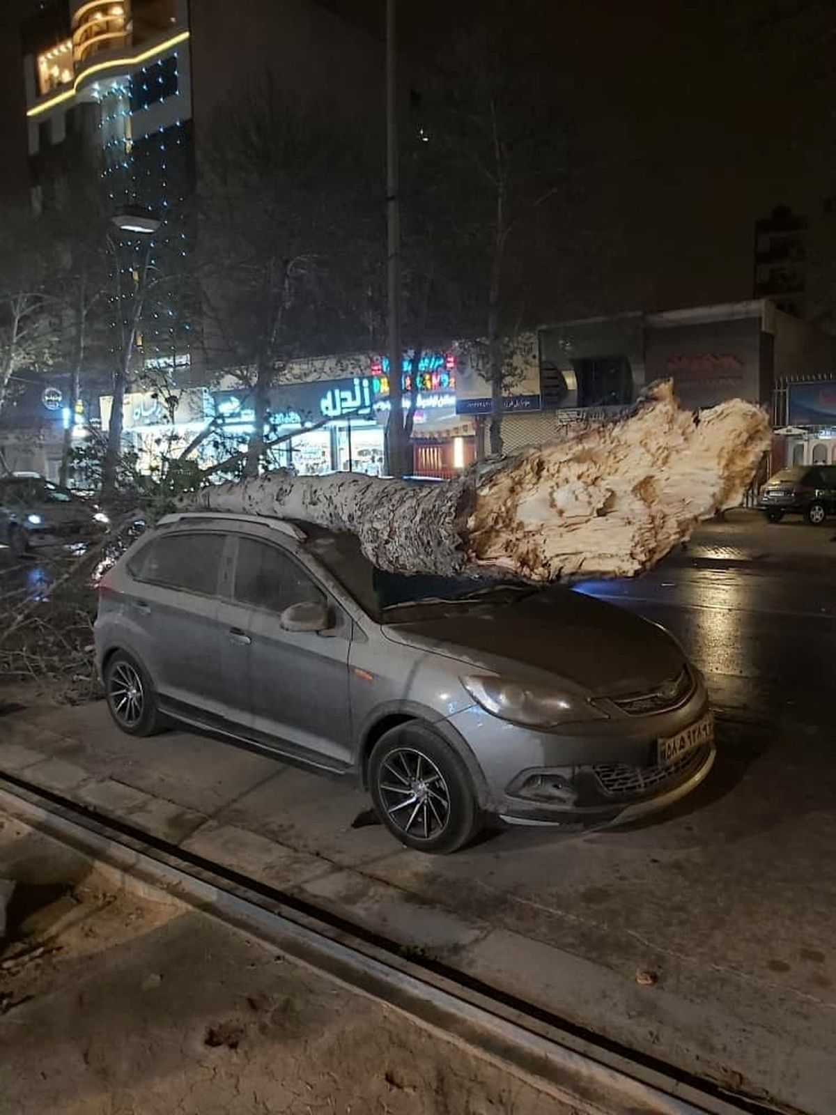 طوفان، شیراز را خاکی کرد/ مصدومیت۱۸نفر بر اثر تندباد+فیلم