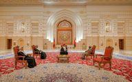 فرش زیبای ایرانی در کاخ عمان +عکس