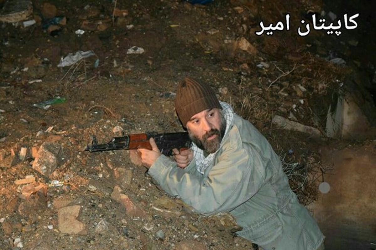 زنده یاد«علی انصاریان» در نقش یک شهید +فیلم