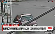 لحظه دلهره آور ربودن کودک در برابر چشمان مادر! +فیلم