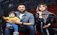 عکس لورفته از شاهرخ استخری و همسرش در خارج