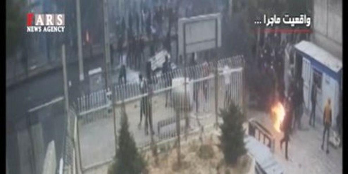 حمله اغتشاشگران به سبک داعش! +فیلم