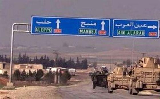 حمله انتحاری در منبج سوریه