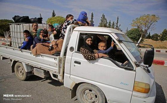 تصاویر: استقبال کردها از ارتش سوریه