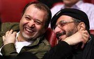 عکس زیرخاکی از دو بازیگر معروف
