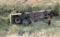 سحرگاه امروز؛ سقوط اتوبوس به دره در جاده فیروزکوه +عکس و فیلم