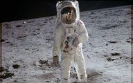 ناسا عکسی از مأموریت آپولوی ۱۱ منتشر کرد