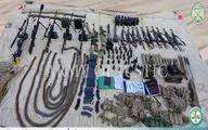 مرزبانان ربوده شده چه اسلحههایی داشتند؟/عکس
