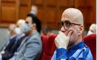 عکس: اَبَر بدهکار بانکی در دادگاه طبری